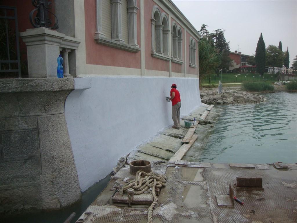 risanamento umidità villa bober lago di garda