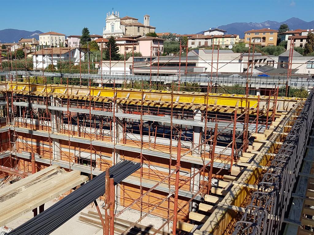 ristrutturazione adeguamento sismico palestra comunale manerba del garda