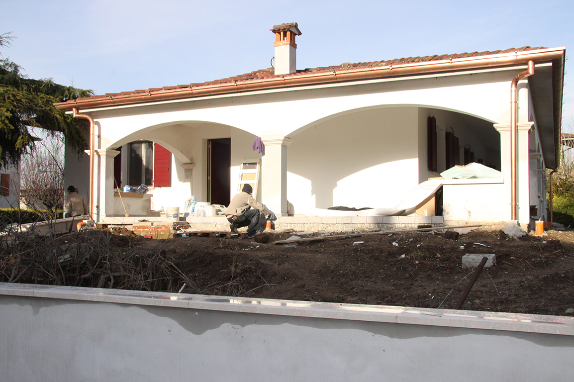 ristrutturazione casa lusso poncarale