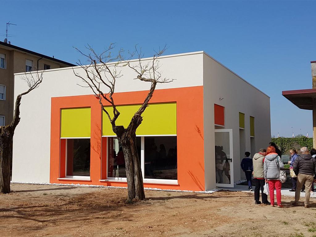 Ristrutturazione edificio pubblico Comune di Vescovato