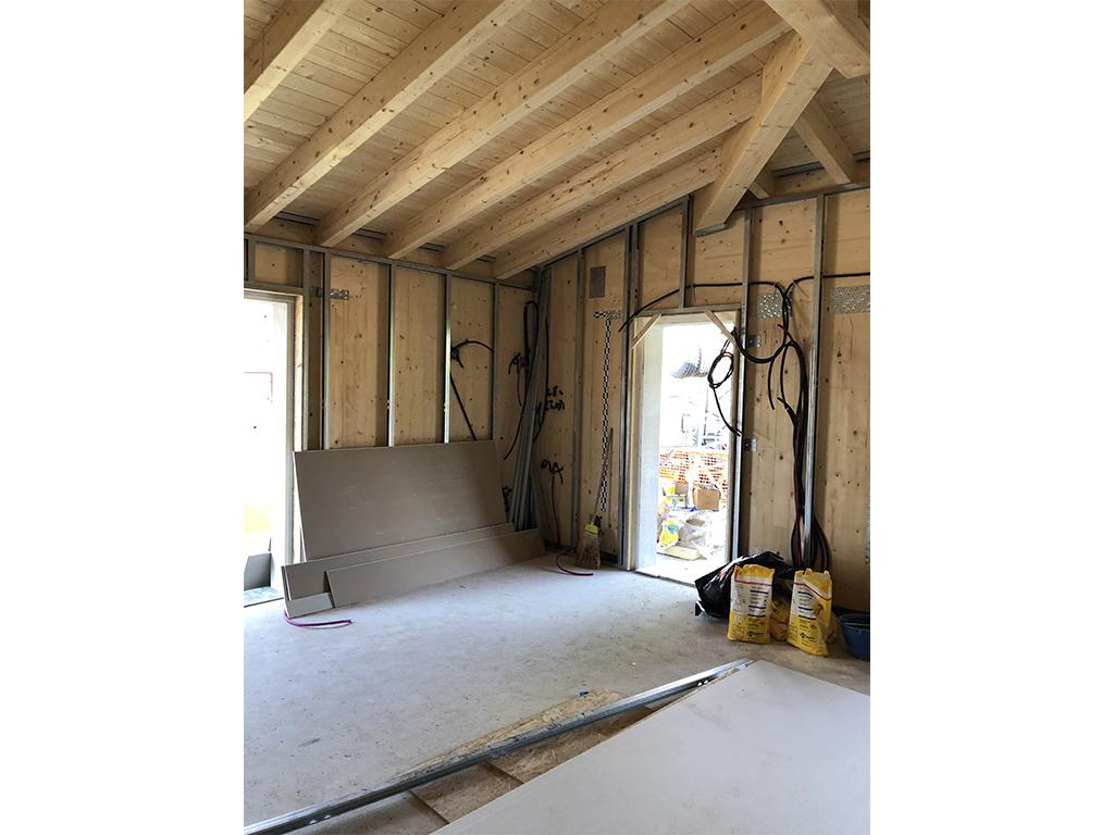 Villa a Rezzato in legno