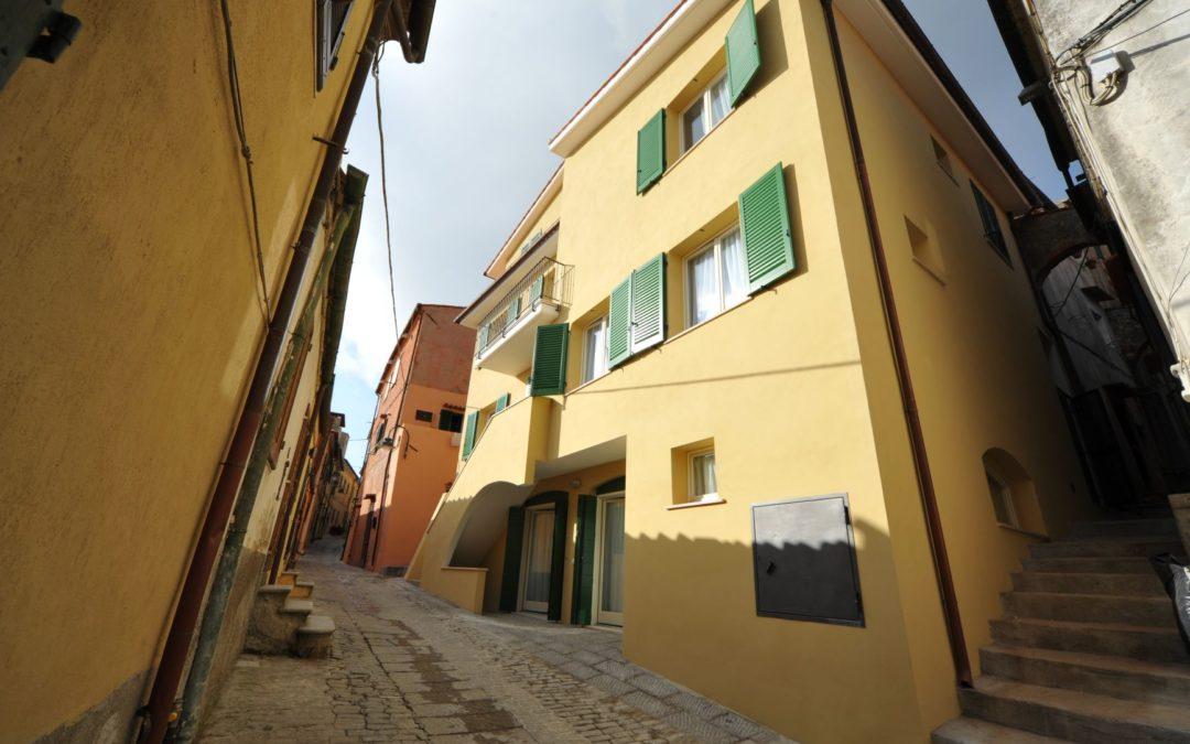 Recupero edificio storico a Capoliveri – isola d'elba
