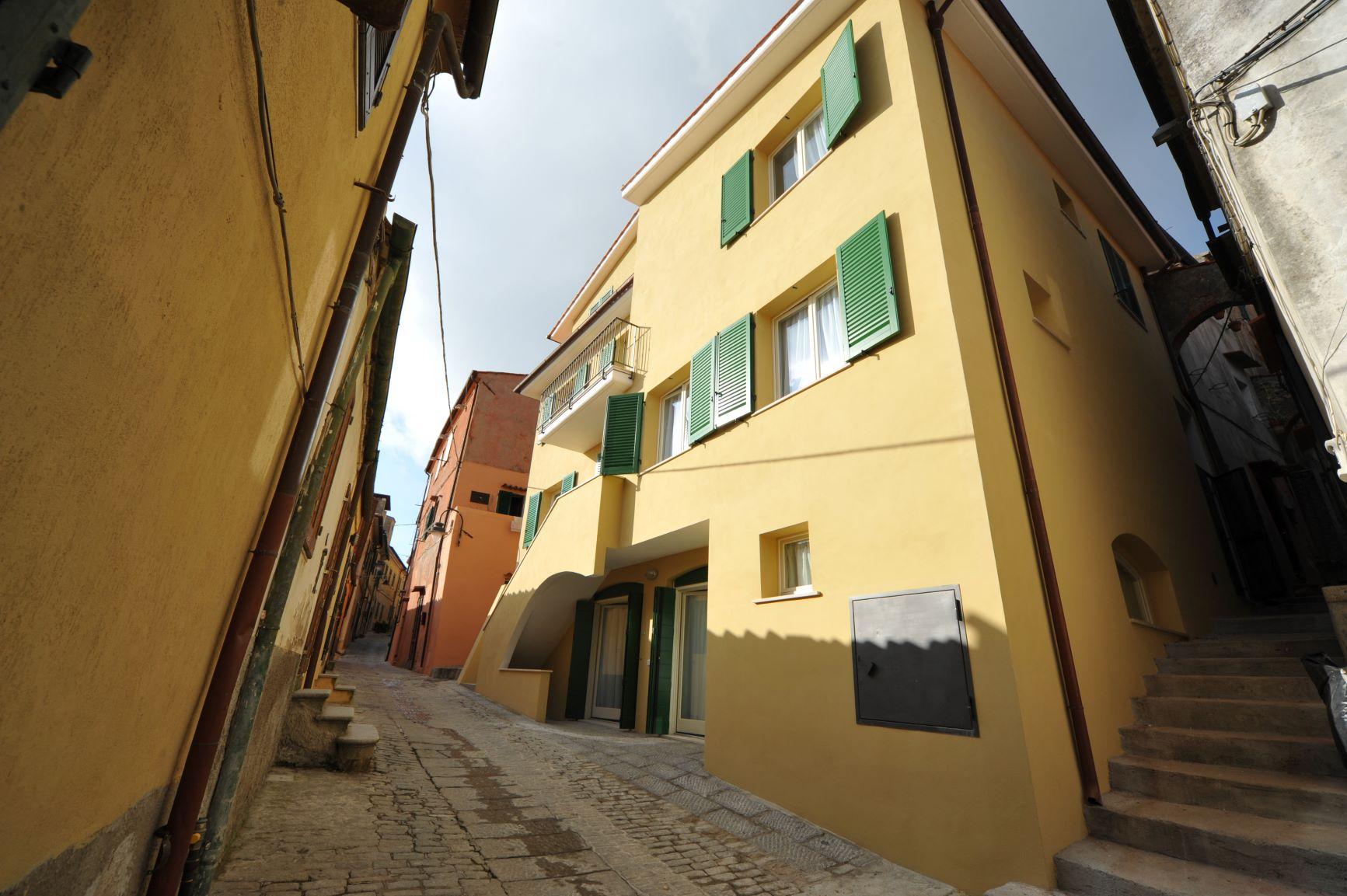 Restauro edificio storico Capoliveri isola d'Elba