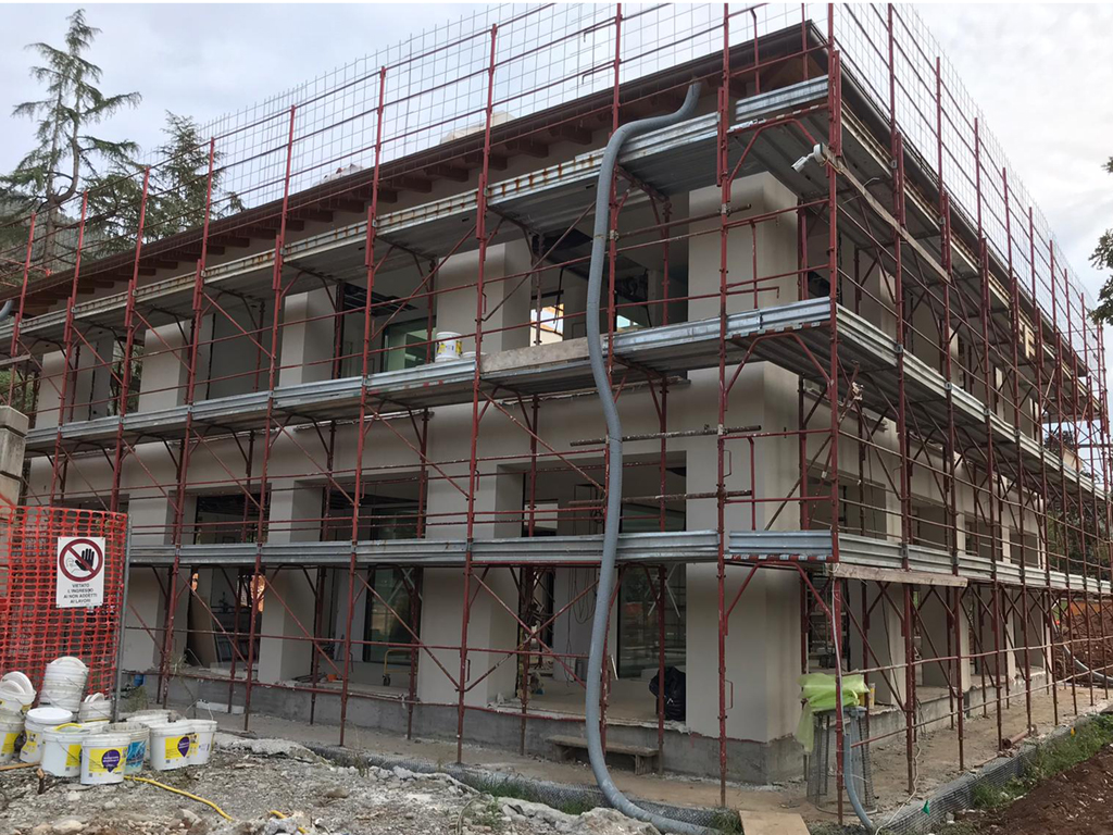 Ville moderne in costruzione a Gussago